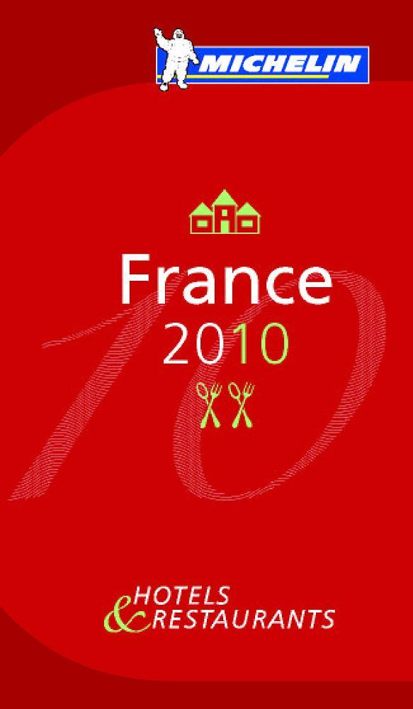 Cover Guide Michelin Frankreich 2010