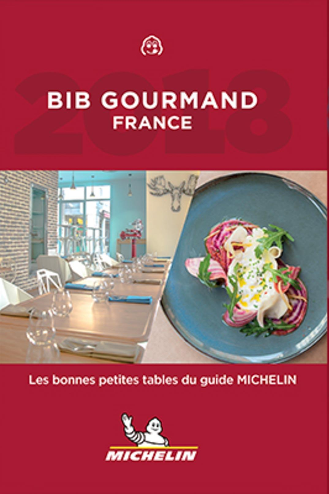 Cover Guide Michelin Bib Gourmand Frankreich