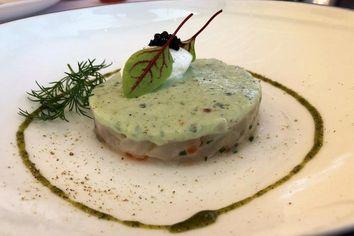 Foto: tischnotizen im Restaurant Le Fanal