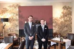 Nick Andreas (Restaurant Supervisor), Andreas Wetendorf (Restaurant Manager)