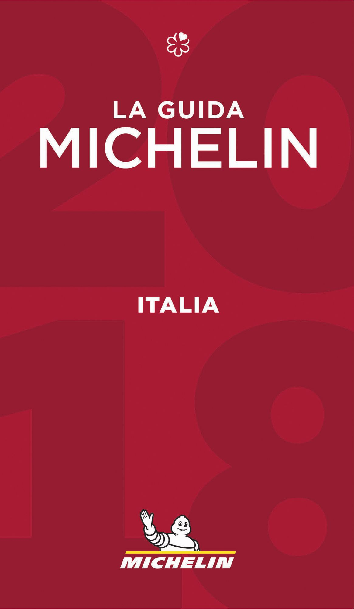 Cover Guide Michelin Italien 2018