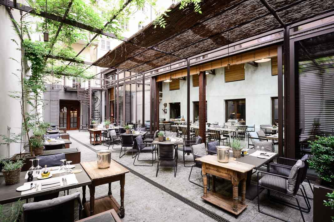 Garden Goes Green Sommergerichte Im Bayerischen Hof Restaurant